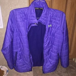 Purple Windbreaker/Jacket